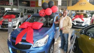 David Dipela, Our Star Sales Executive at CMH GM East Rand