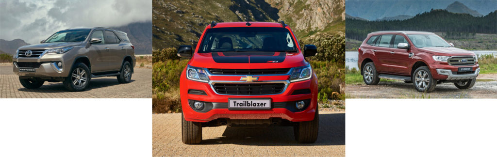 New Chev Trailblazer