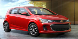 The Chevrolet Sonic Gets a Sportier Look in 2017