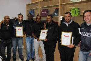 CMH GM East Rand Named Best Parts Department At The CMH All Star Awards